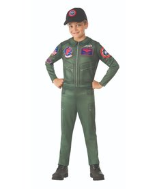 Rubies Costumes Kids Top Gun Flight Suit