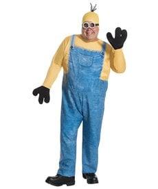 Rubies Costumes Men's Plus Size Minion Kevin Costume