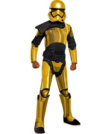 Rubies Costumes Kids Deluxe Commander Prye Costume For Boys