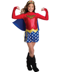 Rubies Costumes Girl's Wonder Woman Dress Costume
