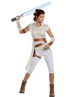 Rubies Costumes Women's Rey Costume Star Wars: The Rise of Skywalker