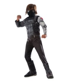 Rubies Costumes Kids Deluxe Muscle Chest Winter Soldier Costume