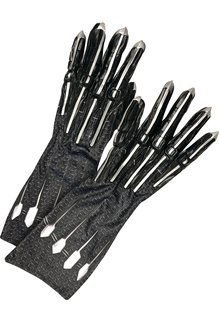 Rubies Costumes Avengers Endgame Adult Black Panther Deluxe Gloves