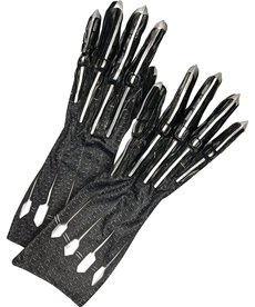 Rubies Costumes Adult Black Panther Deluxe Gloves