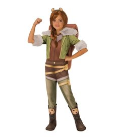 Rubies Costumes Girl's Deluxe Squirrel Girl Costume