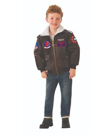Rubies Costumes Kids Top Gun Bomber Jacket