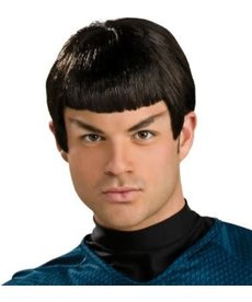 Rubies Costumes Adult Commander Spock Wig