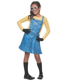 Rubies Costumes Girls Female Minion Costume for Kids
