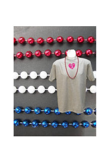 Bag Of Beads (120 Count) - Red/White/Blue