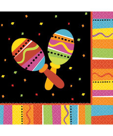 Amscan Luncheon Napkin: Fiesta Fun (16ct.)