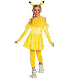 Disguise Costumes Girl's Deluxe Pikachu Girl