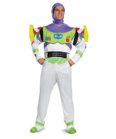 Disguise Costumes Adult Deluxe Buzz Lightyear Costume