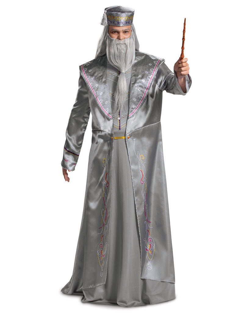 Disguise Costumes Adult Deluxe Dumbledore Costume