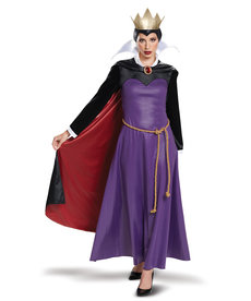 Disguise Costumes Women's Deluxe Evil Queen Costume