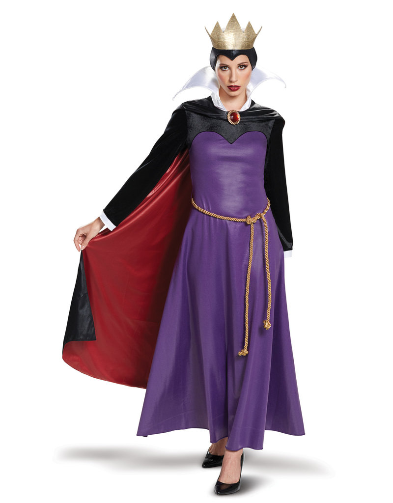 Disguise Costumes Women's Deluxe Evil Queen Costume