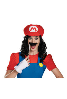 Disguise Costumes Women's Deluxe Female Mario Costume