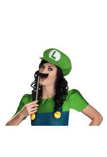 Disguise Costumes Women's Deluxe Female Luigi Costume