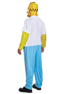 Disguise Costumes Men's Deluxe Homer Simpson Costume