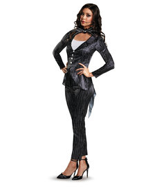 Disguise Costumes Women's Deluxe Female Jack Skellington Costume