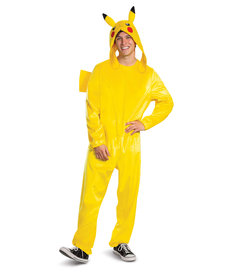 Disguise Costumes Adult Deluxe Pikachu Costume