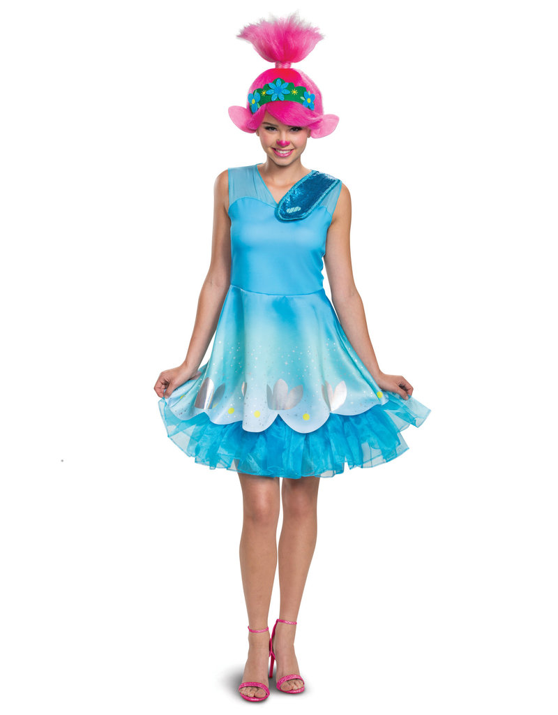Disguise Costumes Adult Deluxe Poppy Costume (Trolls World Tour)