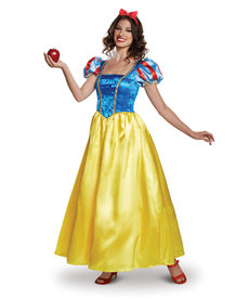Disguise Costumes Women's Deluxe Snow White Costume