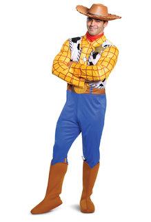 Disguise Costumes Men's Deluxe Woody Costume