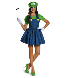 Disguise Costumes Women's Luigi Skirt Version Costume