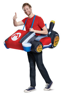 Disguise Costumes Adult Mario Kart Inflatable Costume
