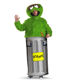 Disguise Costumes Adult Oscar The Grouch Costume