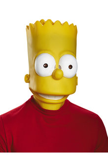 Disguise Costumes Adult Bart Simpson Latex Mask