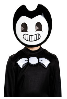 Disguise Costumes Bendy Half Mask