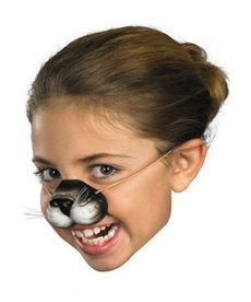 Disguise Costumes Black Cat Nose