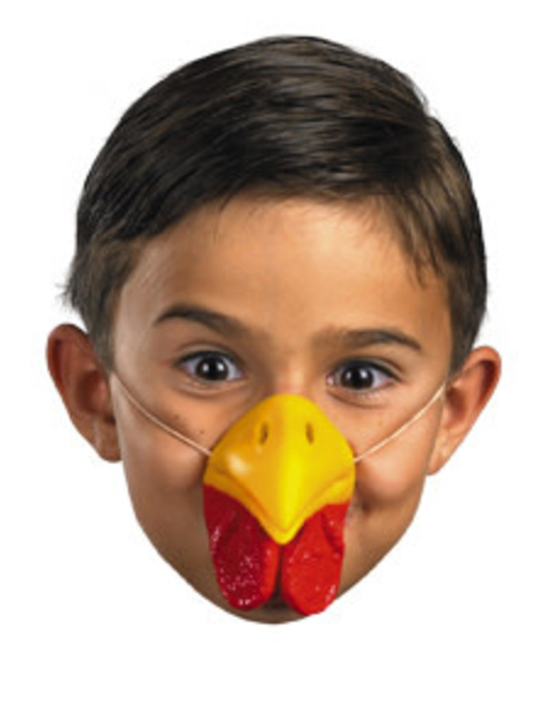 Disguise Costumes Chicken Nose: One Size