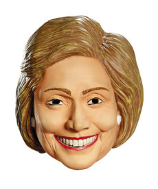 Disguise Costumes Deluxe Hillary Clinton Latex Mask
