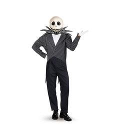Disguise Costumes Men's Deluxe Jack Skellington Costume