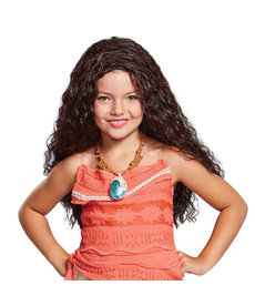 Disguise Costumes Kids Deluxe Moana Wig
