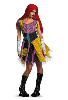 Disguise Costumes Women's Sally Fab Deluxe Costume
