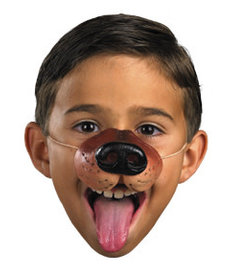 Disguise Costumes Dog Nose Accessory