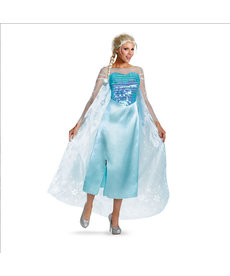 Disguise Costumes Adult Deluxe Elsa Costume