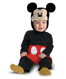 Disguise Costumes Infant Deluxe Mickey Mouse Costume