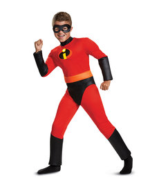 Disguise Costumes Kids Dash Costume with Muscles