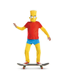 Disguise Costumes Kids Deluxe Bart Costume