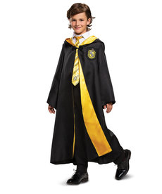 Disguise Costumes Kids Deluxe Hufflepuff Robe