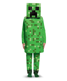 Disguise Costumes Kids Deluxe Minecraft Creeper Costume