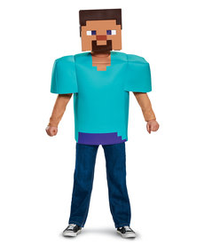 Disguise Costumes Kids Minecraft Steve Costume (Classic)