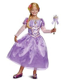 Disguise Costumes Kids Deluxe Rapunzel Costume