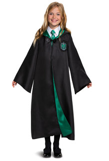 Disguise Costumes Kids Deluxe Slytherin Robe (Harry Potter)