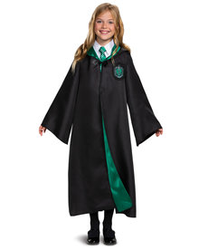 Disguise Costumes Kids Deluxe Slytherin Robe