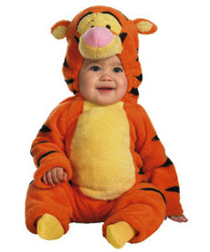 Disguise Costumes Toddler Deluxe Tigger Costume